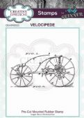 CE Rubber Stamp by Andy Skinner - Velocipede - CEASRS022